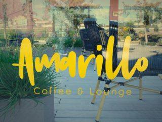Amarillo Coffee & Lounge: café, relax y tecnología.