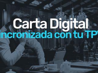 Sincroniza tu programa TPV con la Carta Digital de tu restaurante.